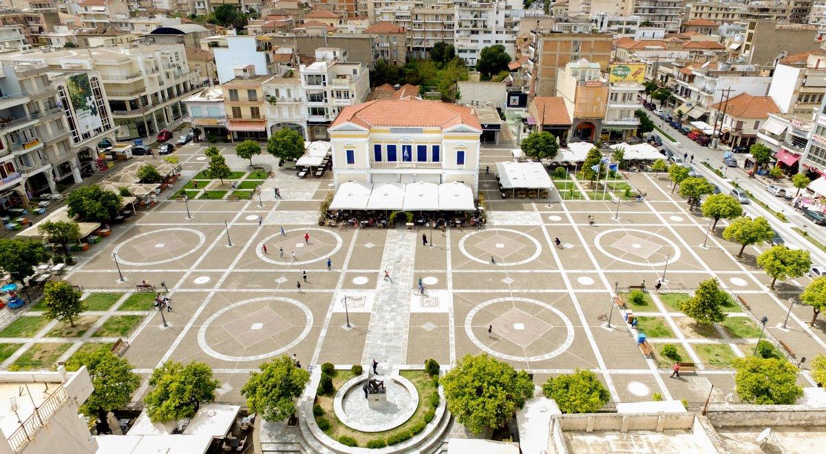 Σπάρτης κεντρική πλατεία