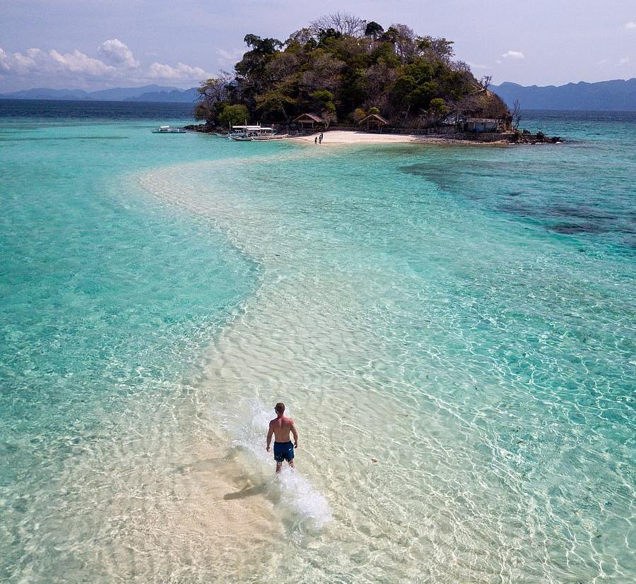 Sulu Sea, Παλαουάν