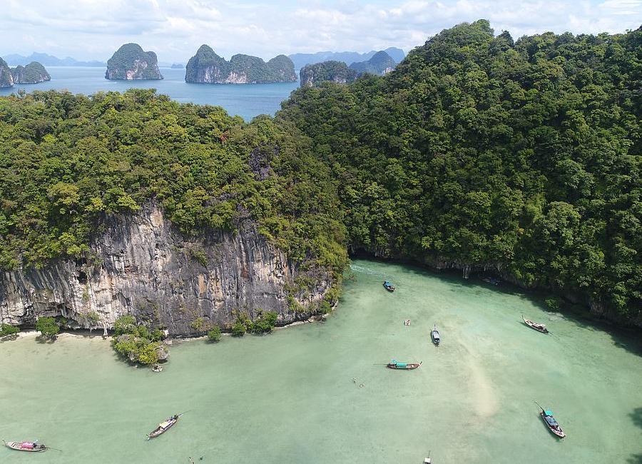 Λιμνοθάλασσα Χονγκ Ταϋλάνδη