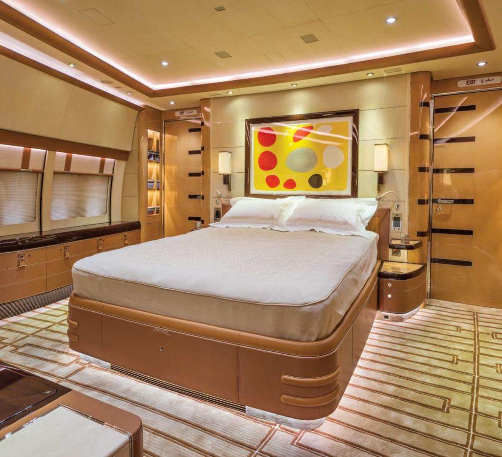 Boeing 747-8i κρεβάτι