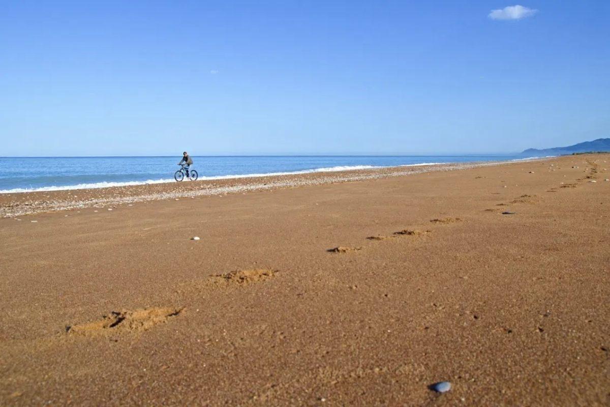 βόλτα με το ποδήλατο στην Ελαία Μεσσηνίας