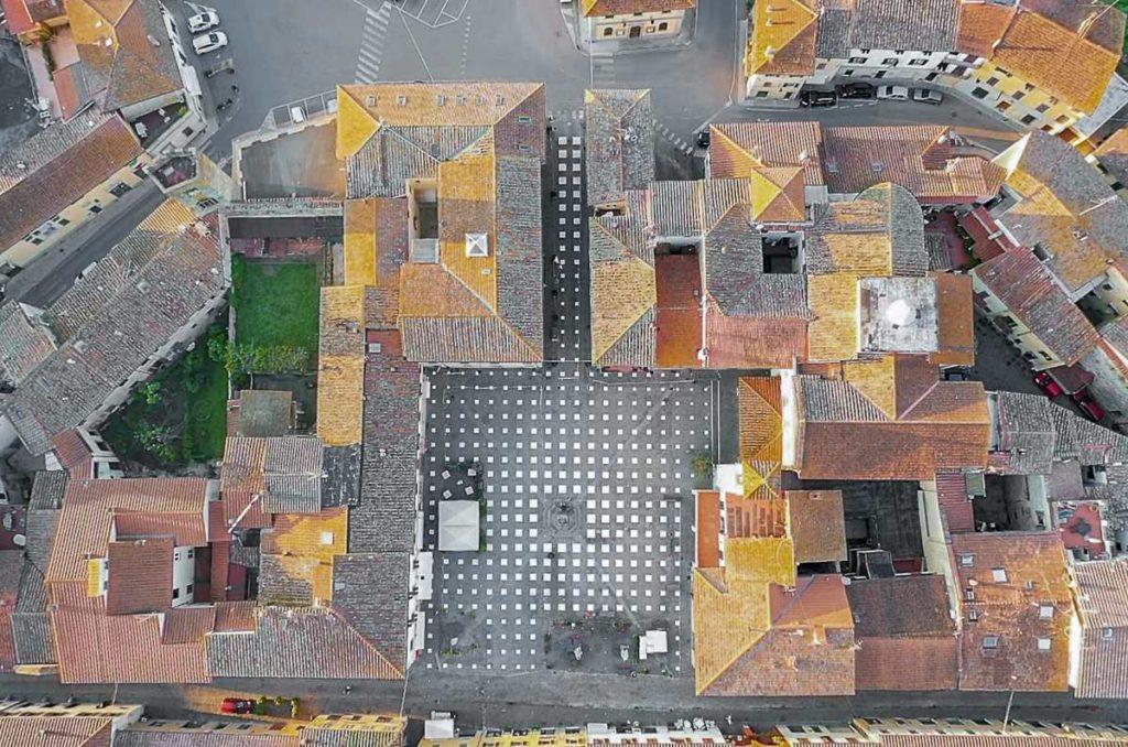 Πλατεία Vicchio από ψηλά