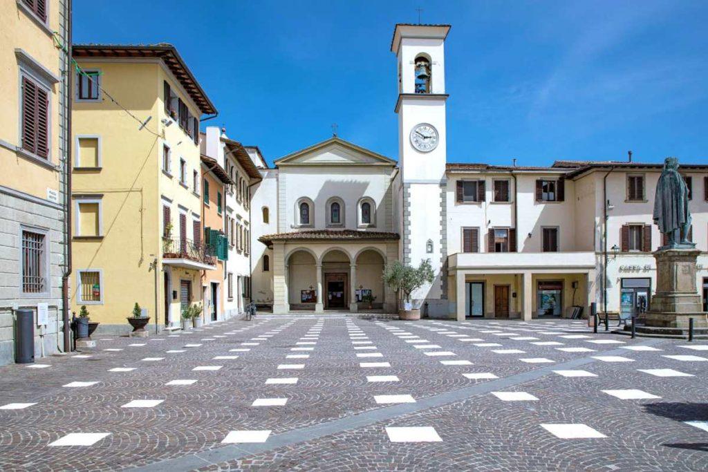 Πλατεία στο Vicchio, Ιταλία
