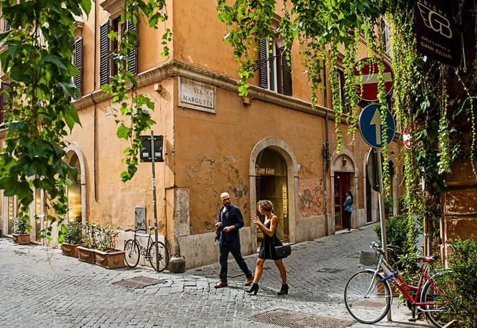 Via Margutta, Rome, Italy