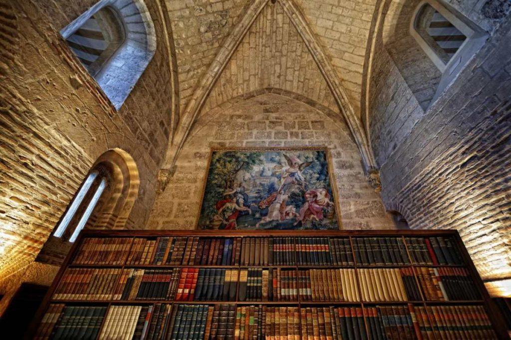 Abadia Retuerta Ledomaine βιβλιοθήκη