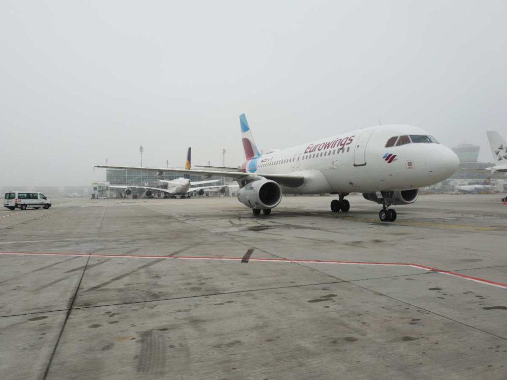 Eurowings αεροπλάνο