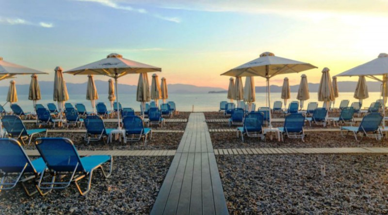 Alkyon ξενοδοχείο beach bar