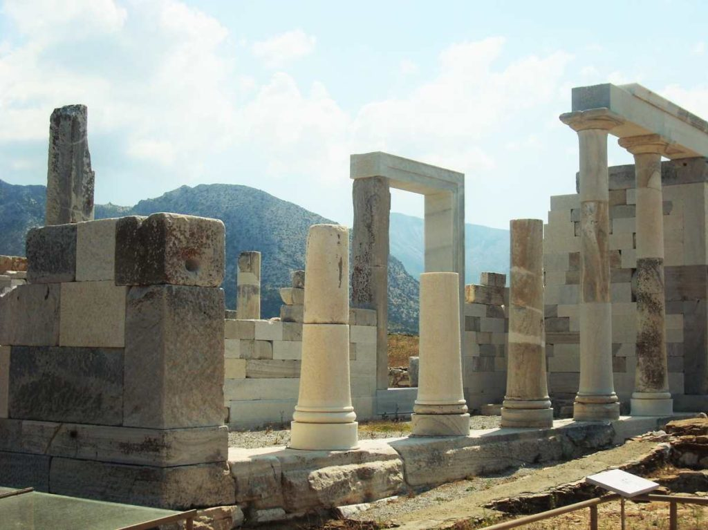 Αρχαία ερείπια, Δήλος