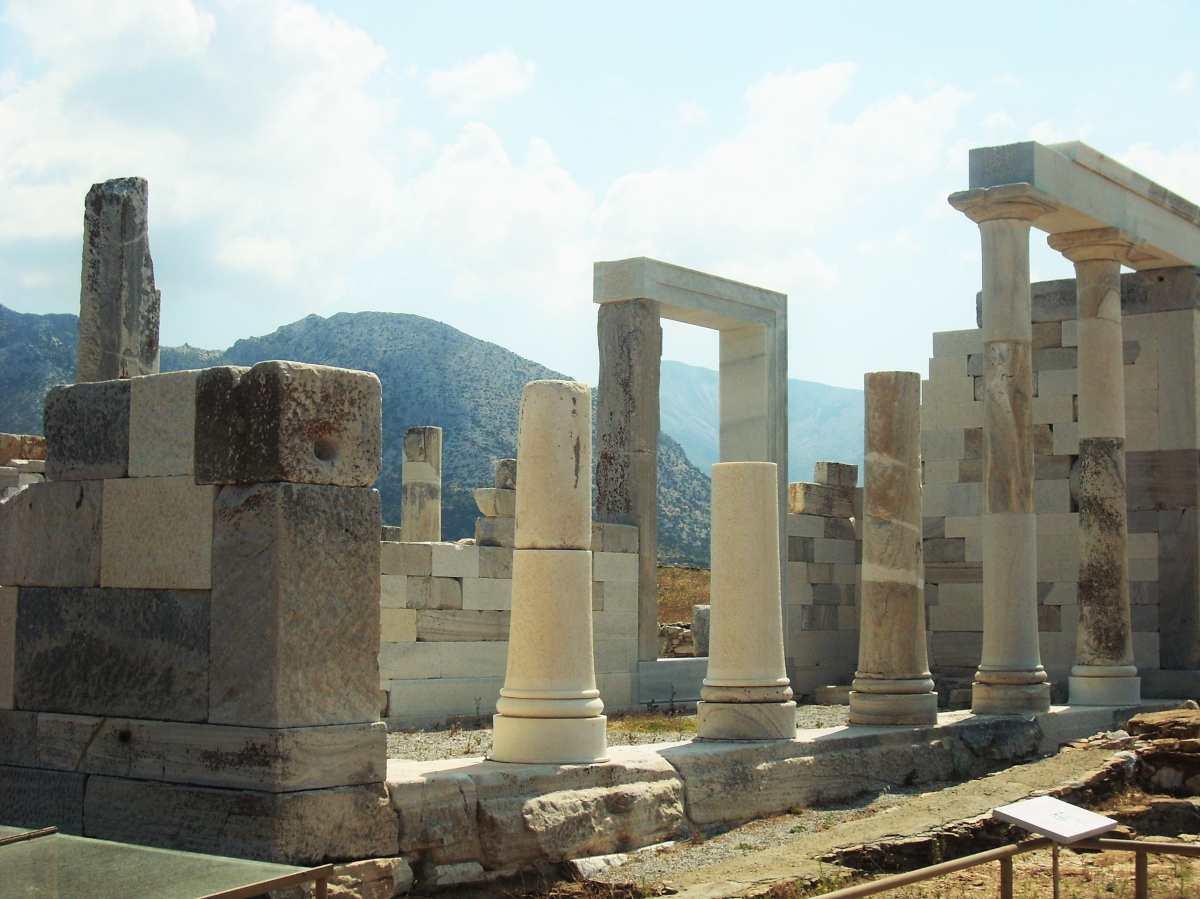 Αρχαία ερείπια, Δήλος, αξιοθέατο