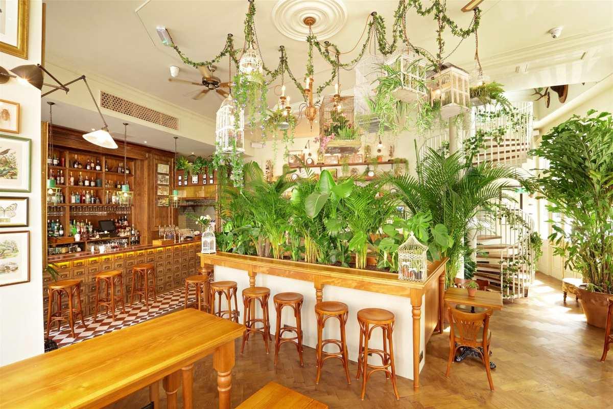 Botanical bar, Λονδίνο