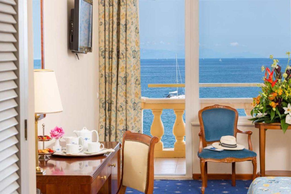 Corfu Palace Hotel, δωμάτιο με θέα