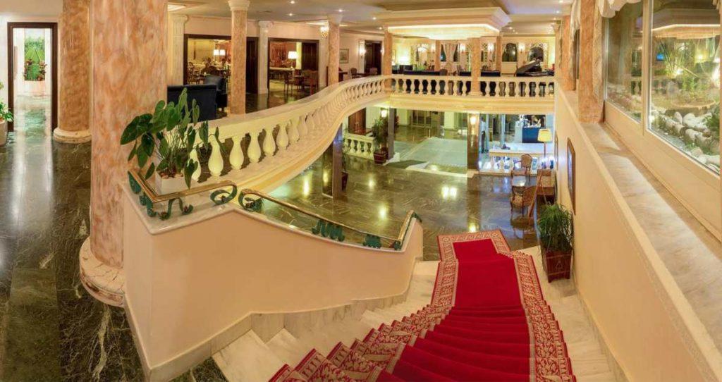 Corfu Palace Hotel σκάλες