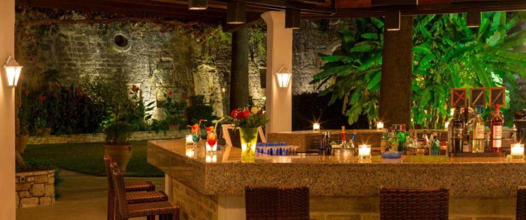 Corfu Palace Hotel εξωτερικό μπαρ