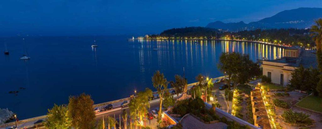 Η θέα από το Corfu Palace Hotel