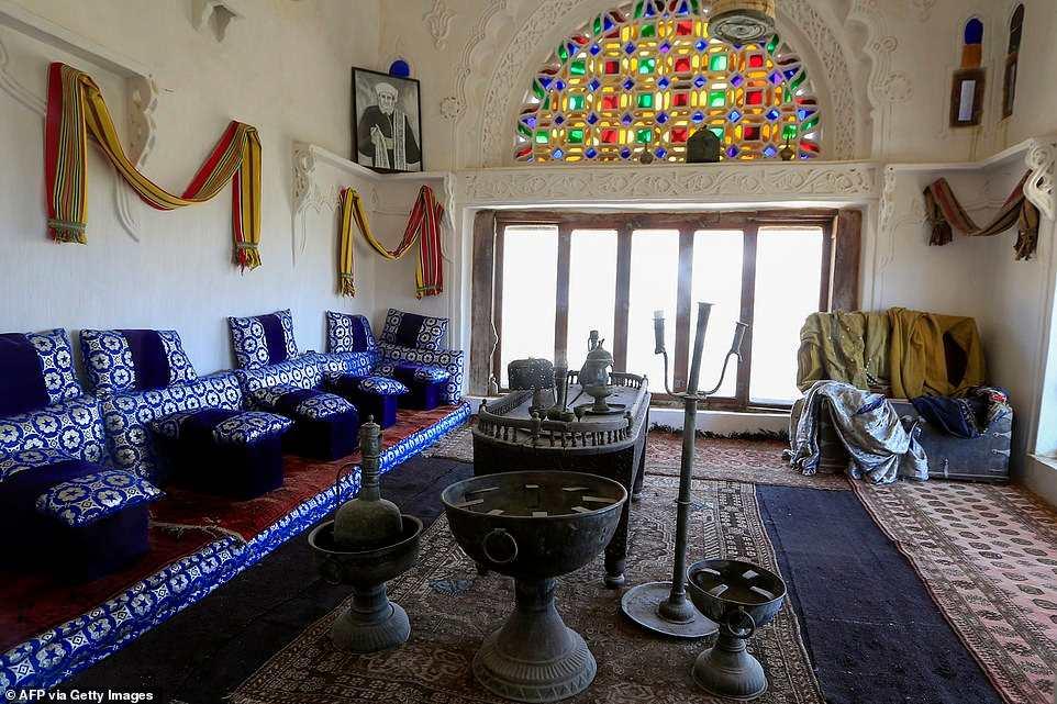 Dar al Hajar εσωτερικό