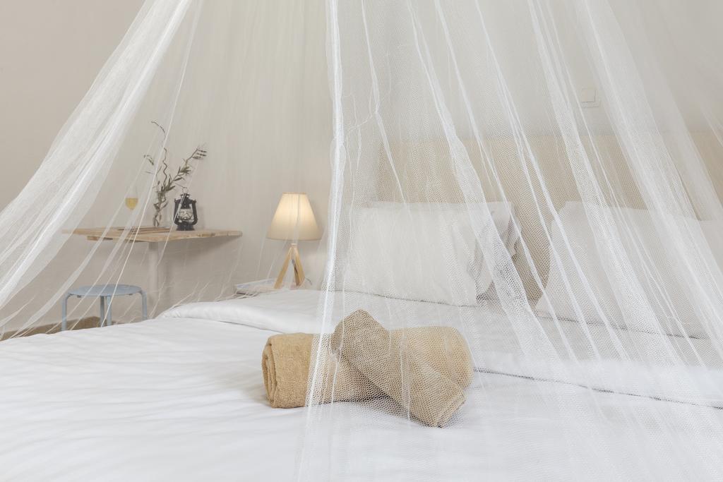 ονειρική κρεβατοκάμαρα στο Eco Beach & Magic Garden