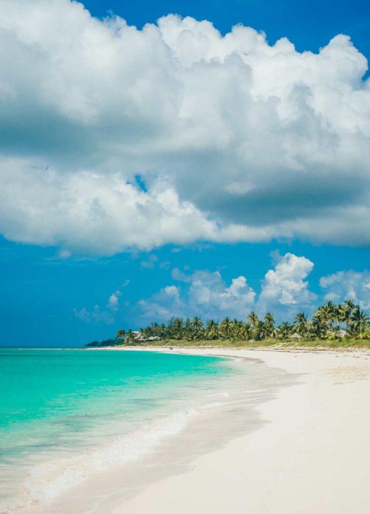 Παραλία στο νησί Ελεύθερα