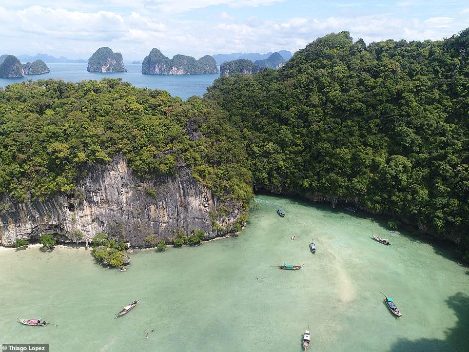 Hong lagoon, thailand