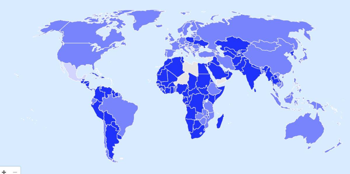 iata χάρτης
