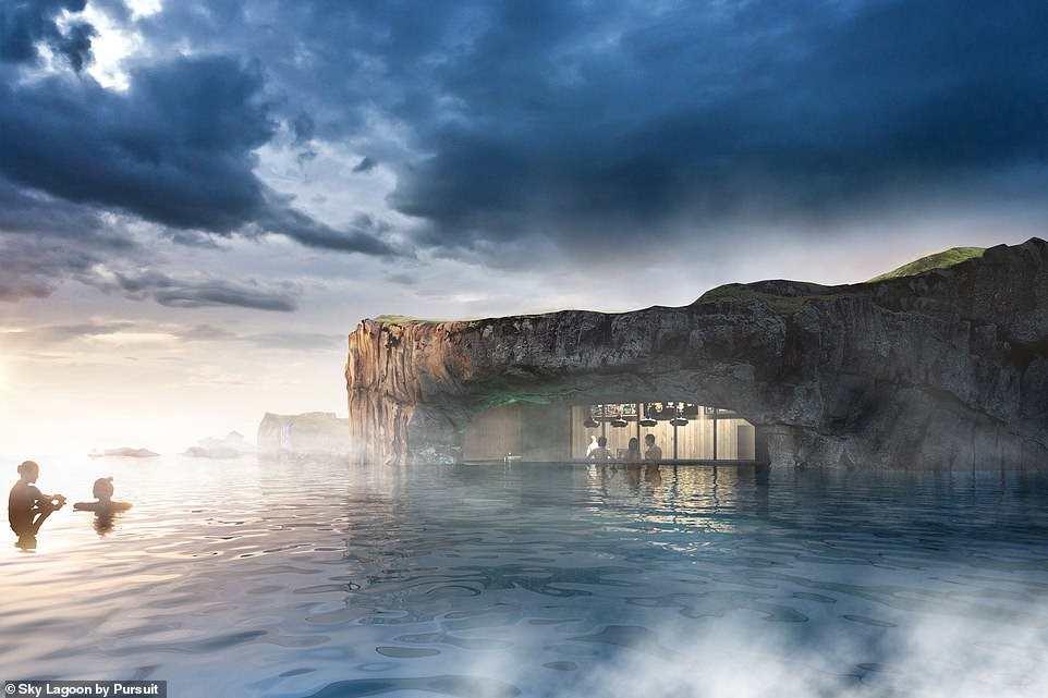 Γεωθερμική λίμνη, Ισλανδία