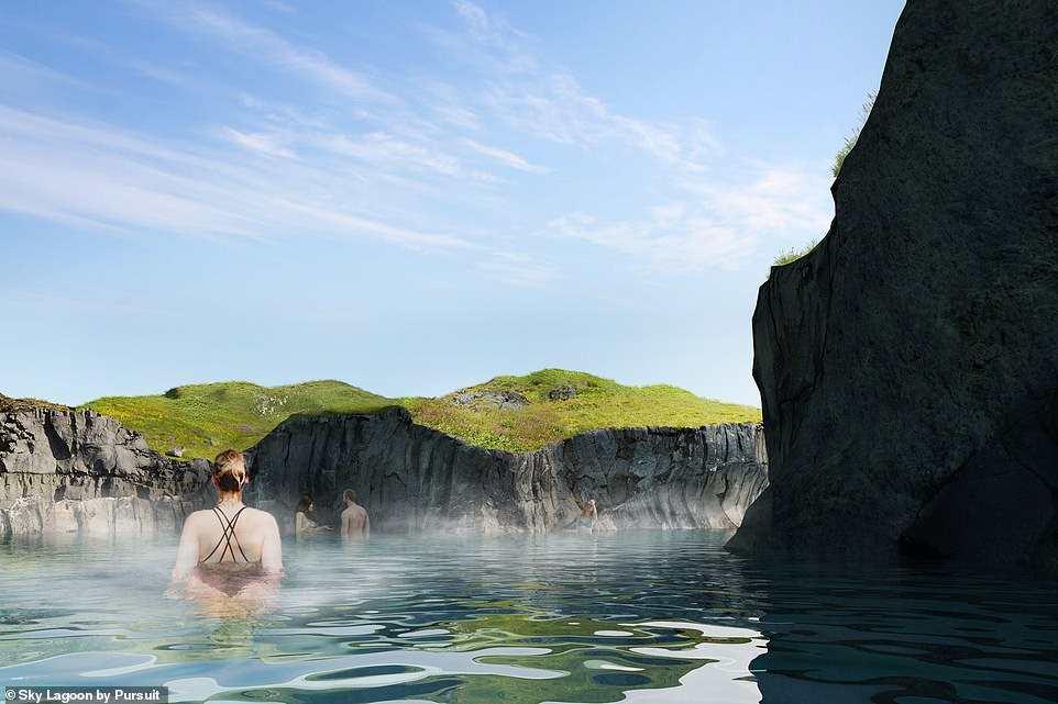 καταρράκτης λίμνη, Ισλανδία