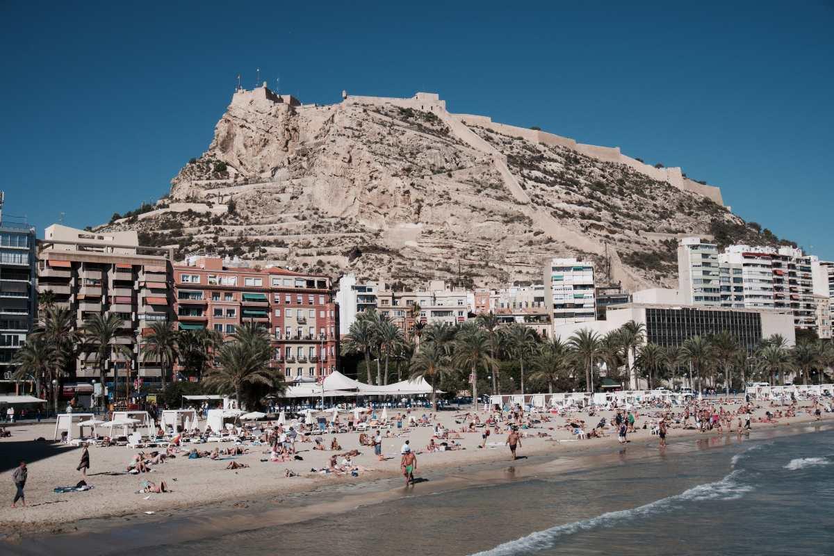 Παραλία, Ισπανία