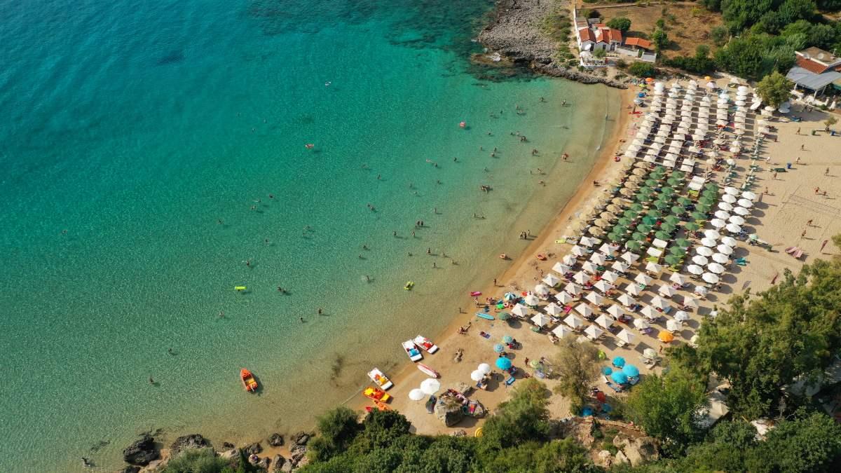 Παραλία Καλόγρια Μάνη