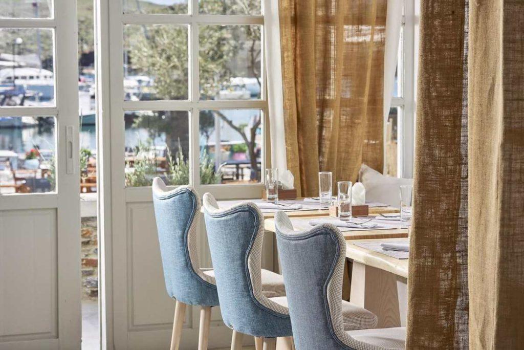 Kythnos Bay Hotel τραπεζαρία