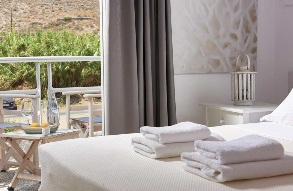 Kythnos Bay Hotel πετσέτες