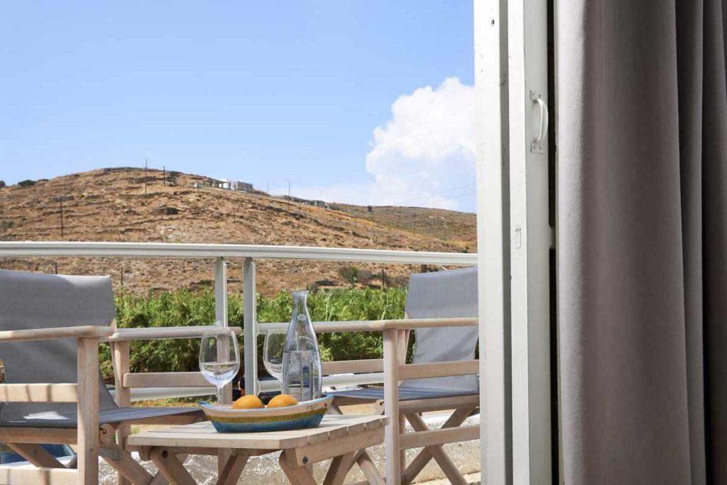 Kythnos Bay Hotel θέα
