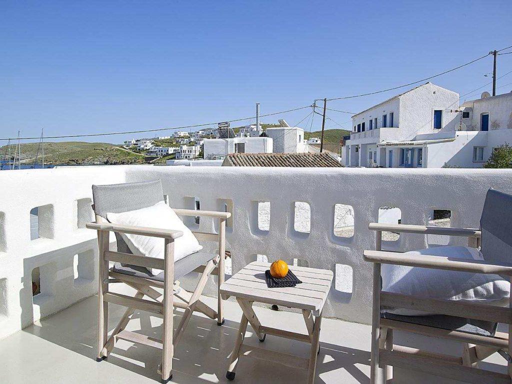 Kythnos Bay Hotel μπαλκόνι