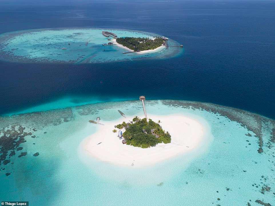 Μαλδίβες από ψηλά