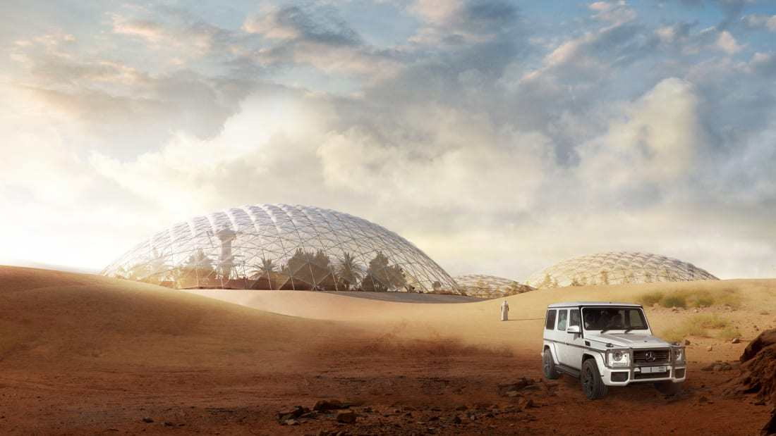 Mars Science City, Dubai