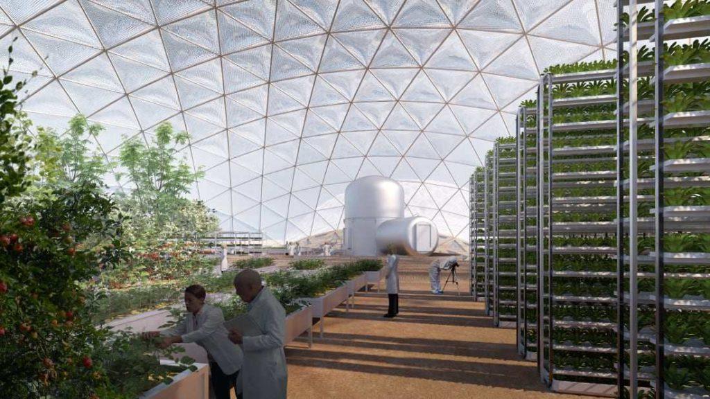 Mars Science City εσωτερικό