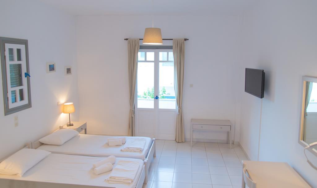 το εσωτερικό των δωματίων στο Ostria Apartments