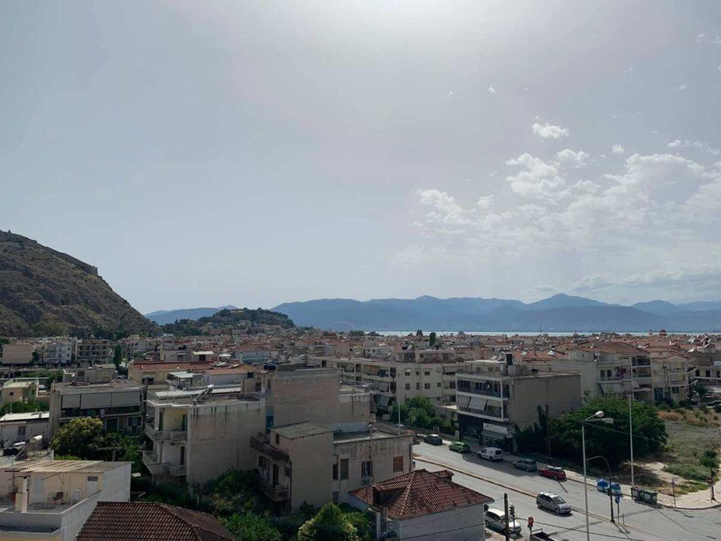 θέα από ψηλά Ναύπλιο