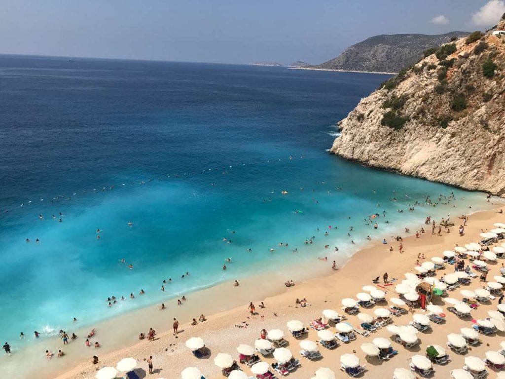 Παραλία Kas, Τουρκία