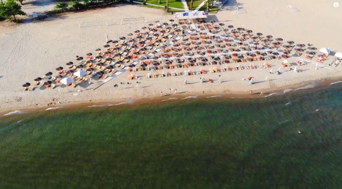 Παραλία στην Κεραμωτή, Καβάλα