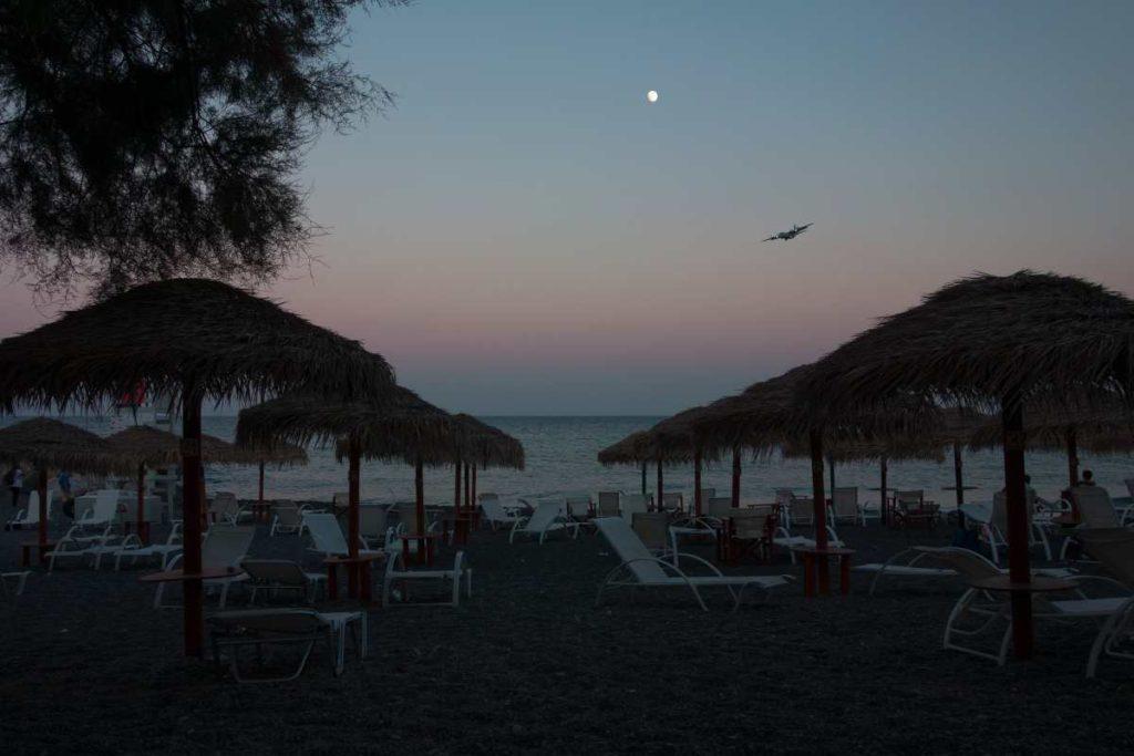 Παραλία, ξαπλώστρες