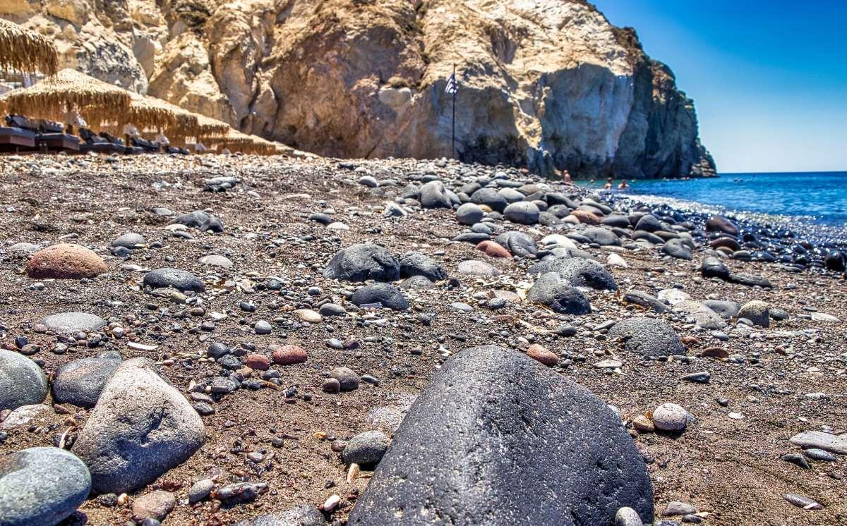 Παραλία Βλυχάδας, Σαντορίνη