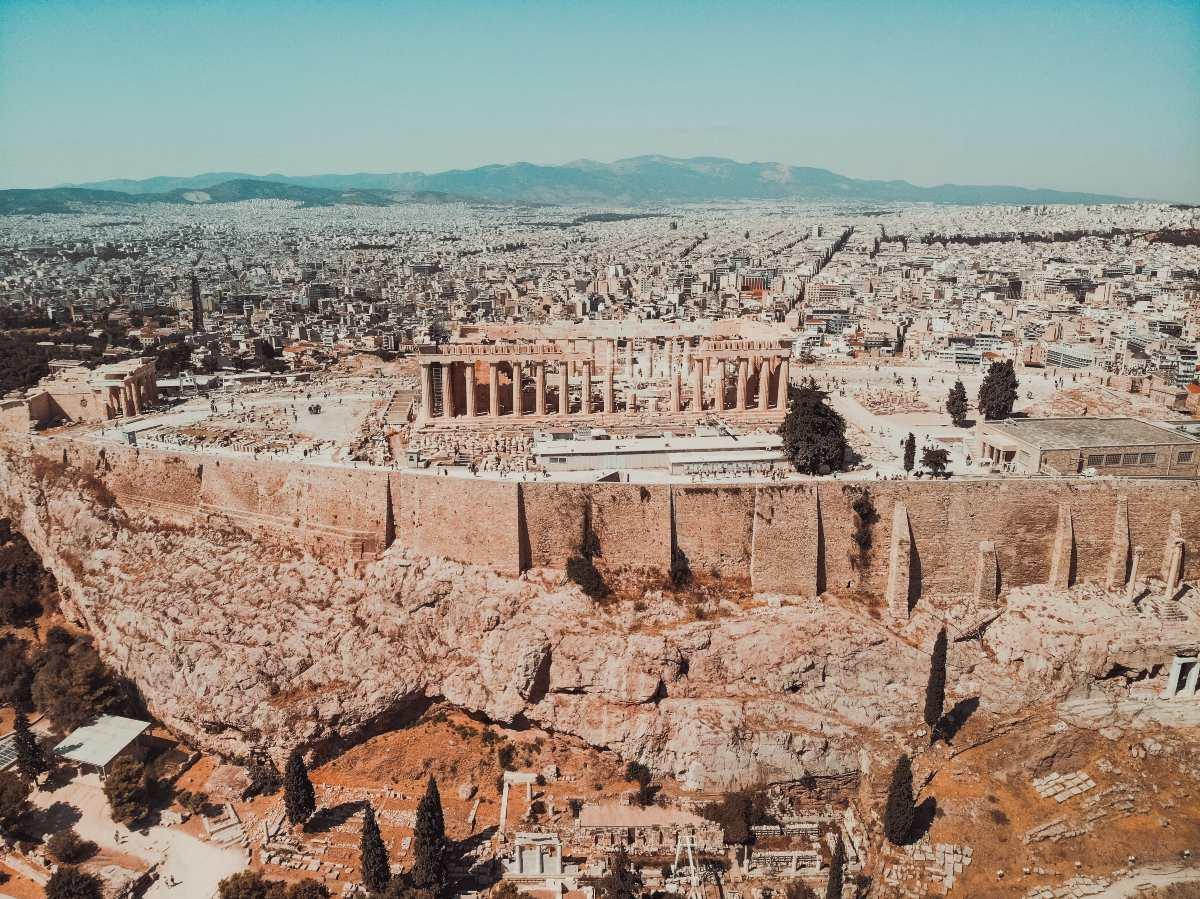Παρθενώνας, Ακρόπολη