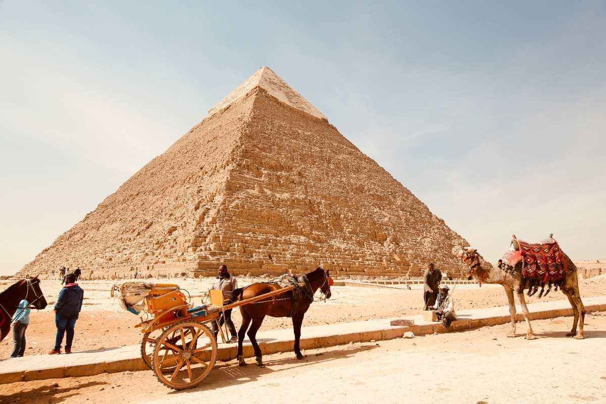 Πυραμίδες Αίγυπτος ταξίδι 2021