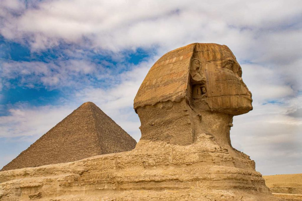 Πυραμίδες της Γκίζας, Αίγυπτος