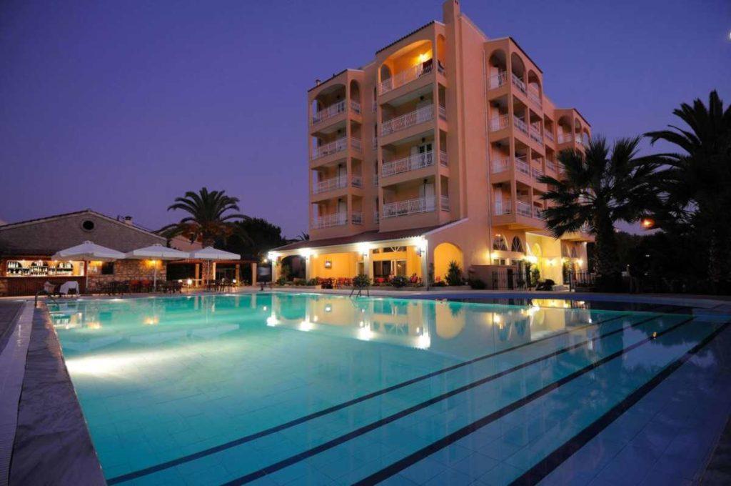 sunset hotel, Κέρκυρα