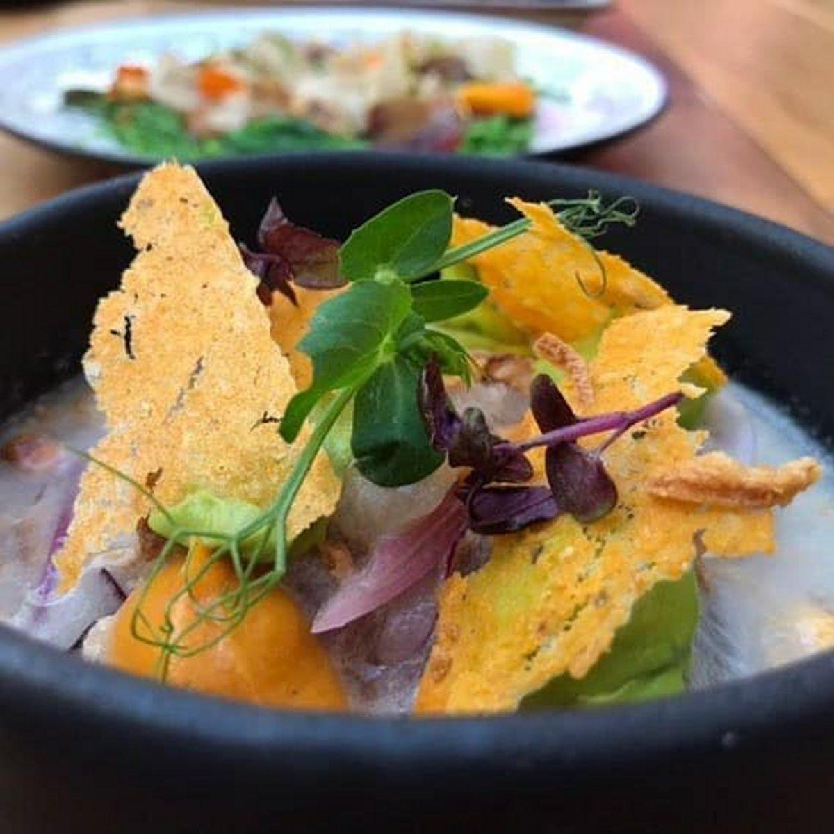 Περουβιανή κουζίνα στο Urban Garden Bar