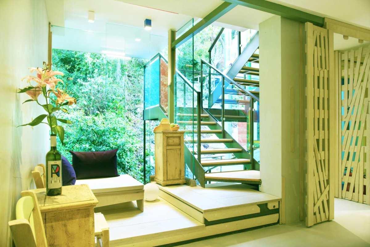 Villa rosa σκάλες