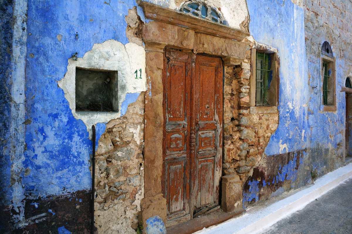 Ξύλινη πόρτα, Χίος