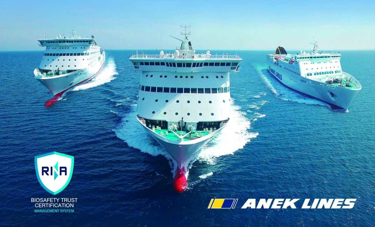ANEK LINES: Ένα ασφαλές ταξίδι ενάντια του COVID-19