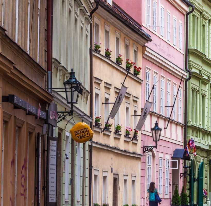Η συνοικία των Εβραίων, Πράγα