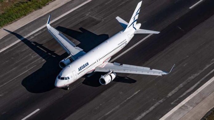 Αεροπλάνο Aegean Airlines